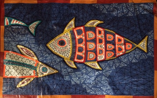 Fish Tarpestries for Reel Foods Fish Market