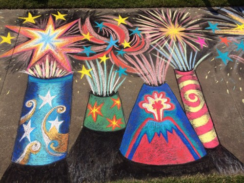 Featured Chalk Artist – July 4th, 2015