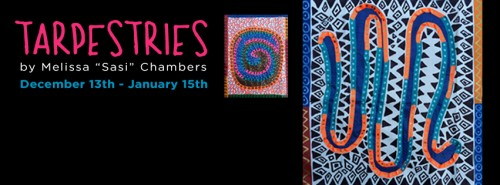 """Tarpestries"" — Sasi's Solo Exhibition at Boise State University"