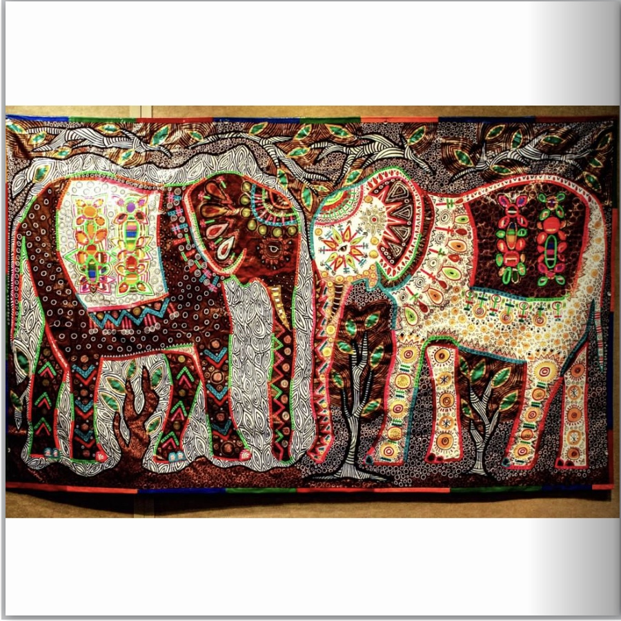 Elephants in the Room Tarpestry